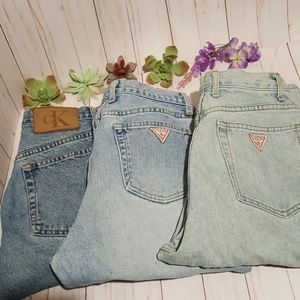 💗Coming soon! Vintage jeans💗 Guess and Calvin